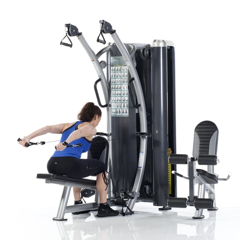 Highlands Ranch Gym Schedule: TuffStuff Dual Stack Functional Trainer (HTX-2000