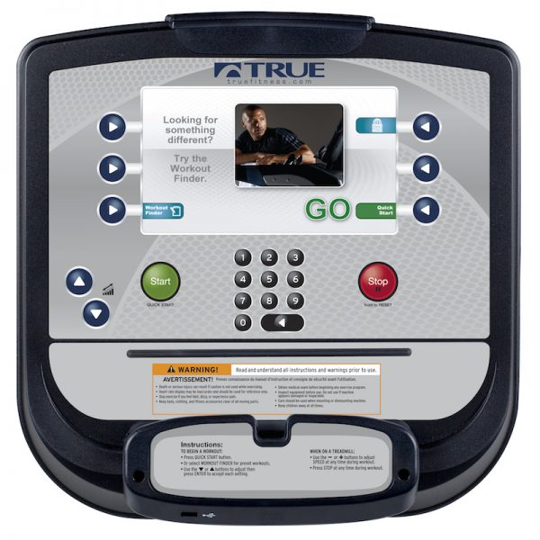 TRUE Fitness Escalate 9 Upright Console