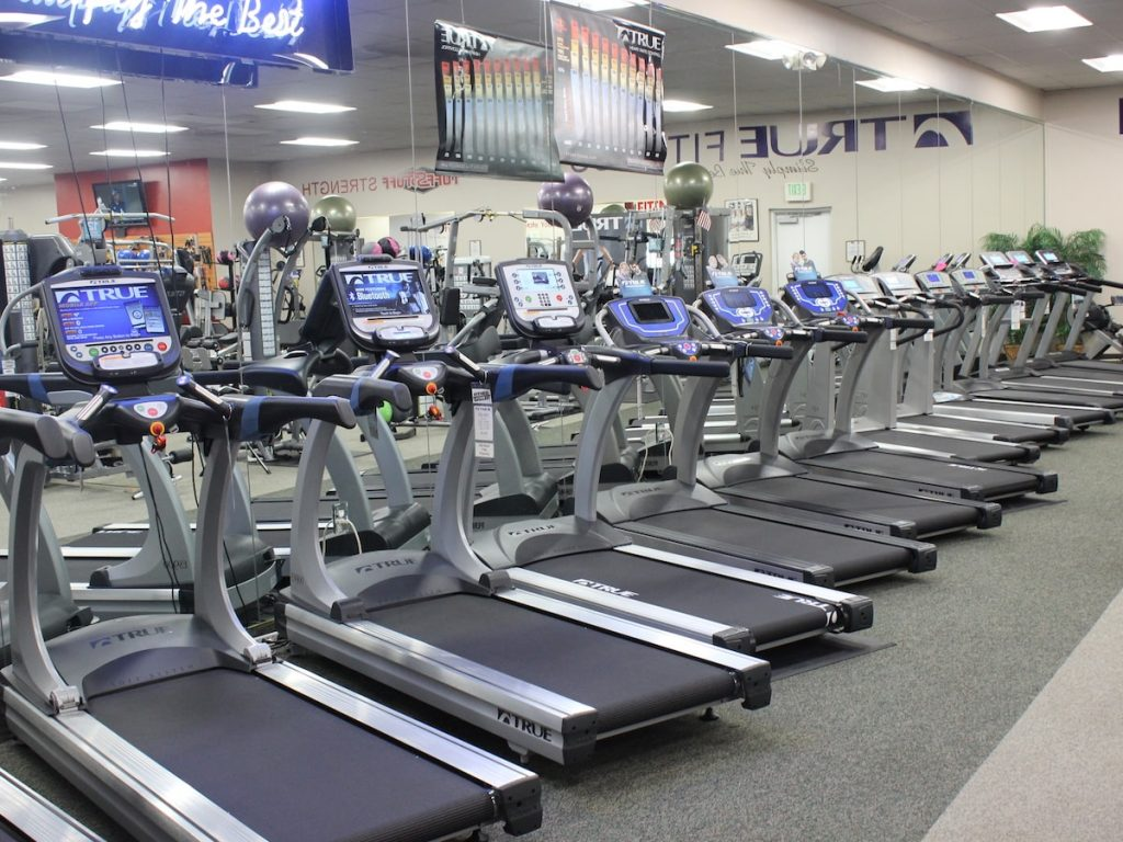 TRUE Fitness Treadmills at Fitness Gallery