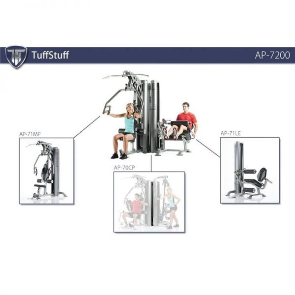 Apollo 7200 2-Station Multi Gym