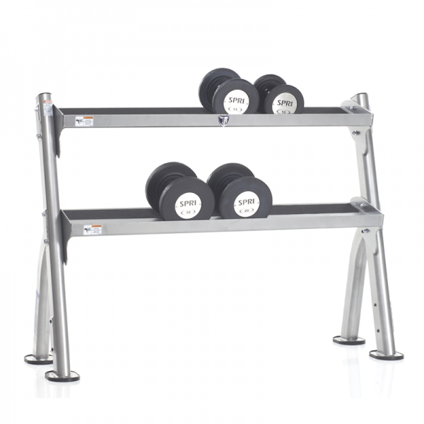 Evolution 2-Tier Dumbbell / Kettlebell Rack