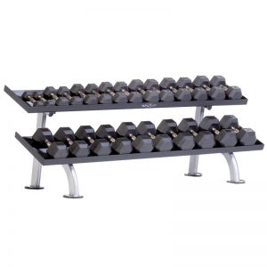 TuffStuff Proformance Plus 2-Tier Tray Dumbbell Rack (PPF-752T)