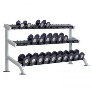 TuffStuff Proformance Plus 3-Tier Saddle Dumbbell Rack (PPF-754)