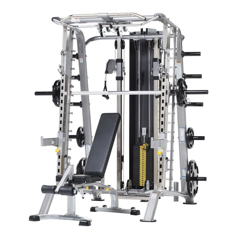 Tuffstuff Smith Machine Half Cage Ensemble Fitness Gallery