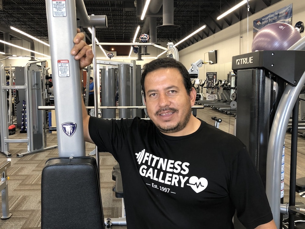 Jose at Fitness Gallery