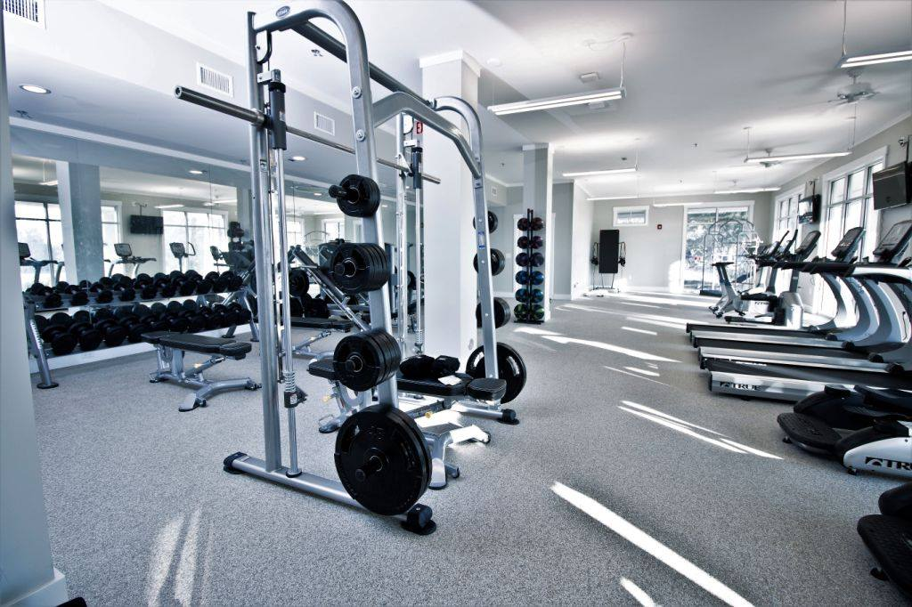 Commercial Fitness Center Gym Installation