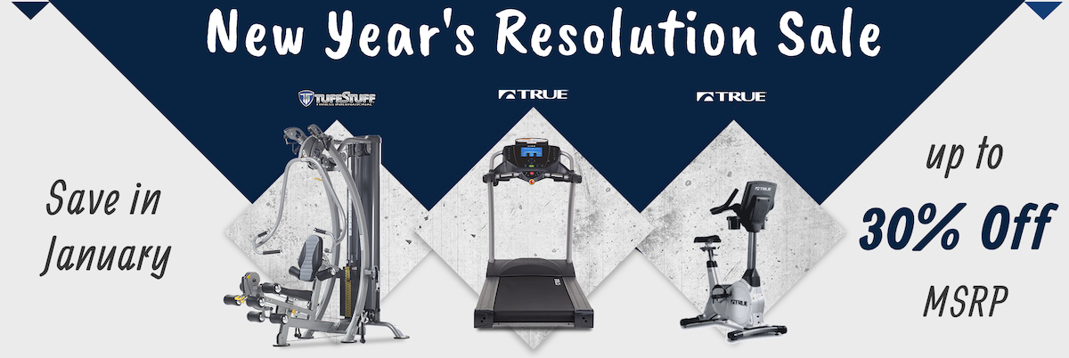 New Year's Resolution Sale