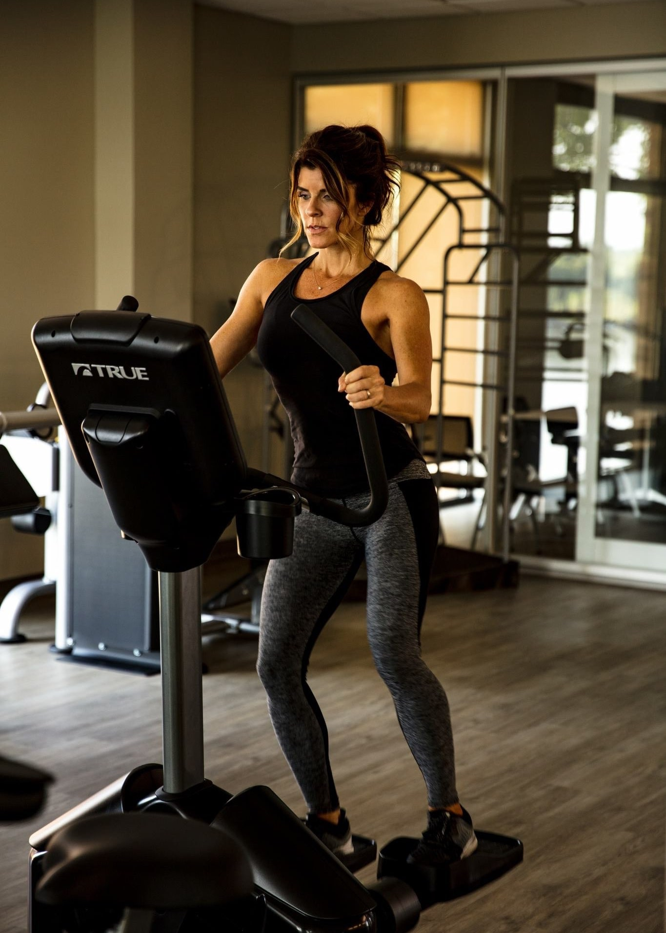 TRUE Fitness Commercial Elliptical - Lateral Trainer Traverse