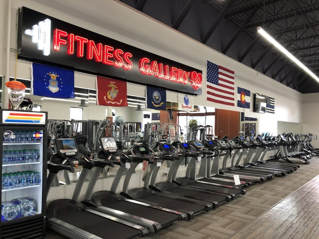 Fitness Gallery Showroom Denver Exercise Equipment
