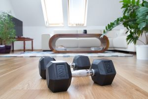 Free weight workouts at home