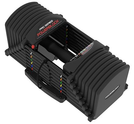 PowerBlock Adjustable Dumbbells - Pro Series Set