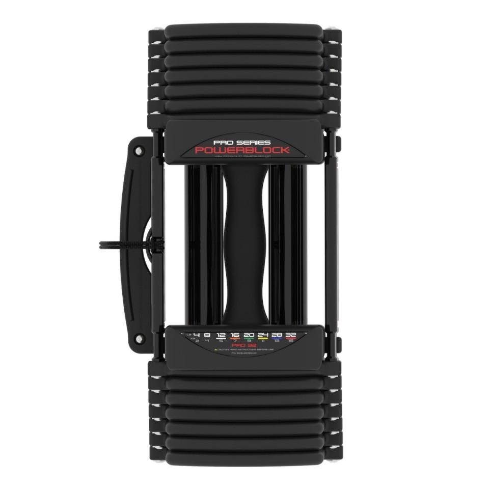 PowerBlock Pro 32 Adjustable Dumbbells at Fitness Gallery