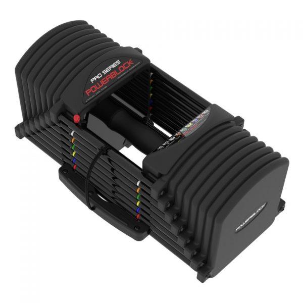 PowerBlock Pro Series 5-90 Adjustable Dumbbells at Fitness Gallery