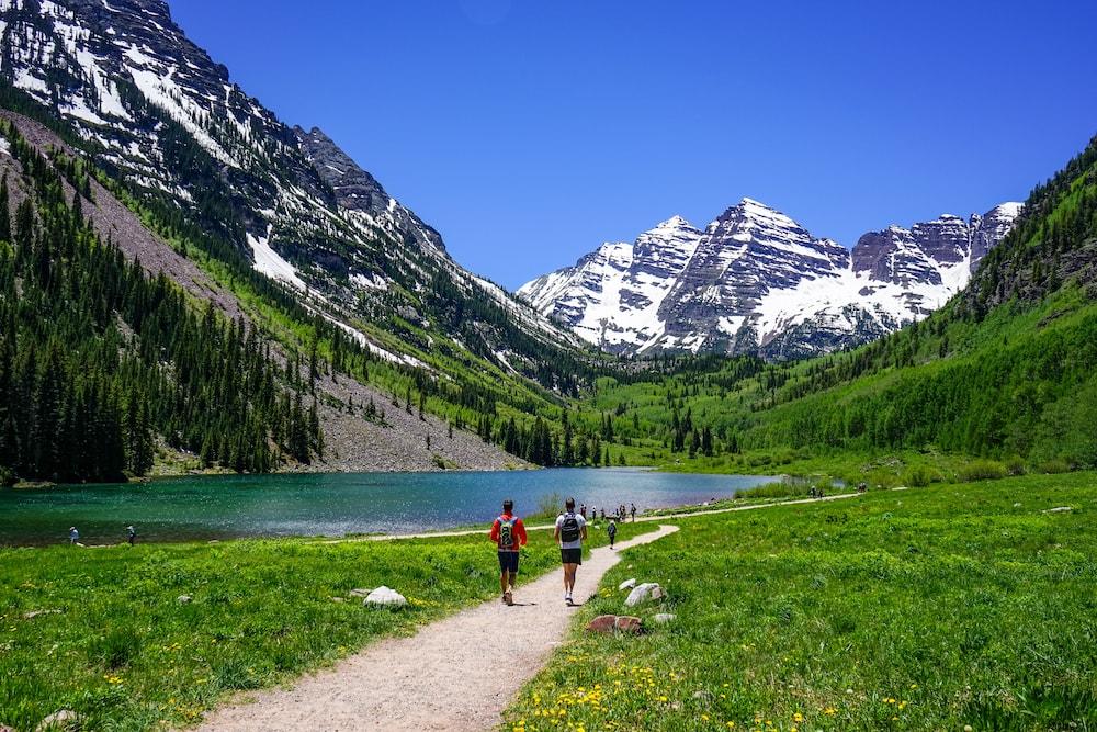 Exercise outside - Colorado Mountains