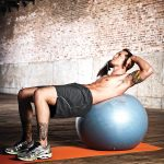 LifeLine PRO Exercise Ball 75cm - Crunch