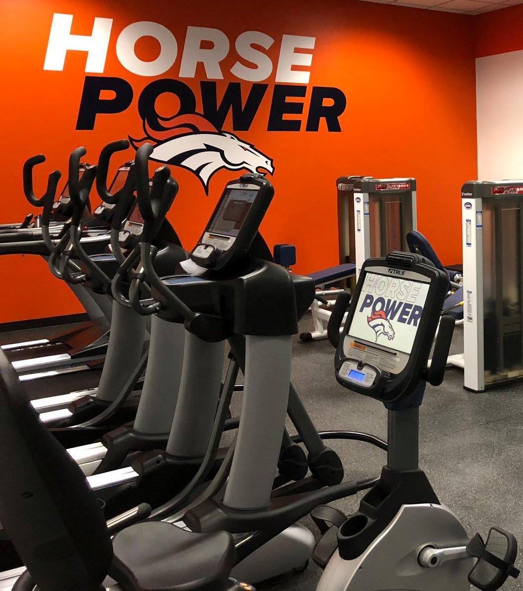TRUE Fitness cardio at Denver Broncos