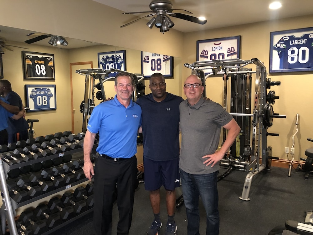 Donnie Salum Rod Smith and Michael Shanks - Home Gym