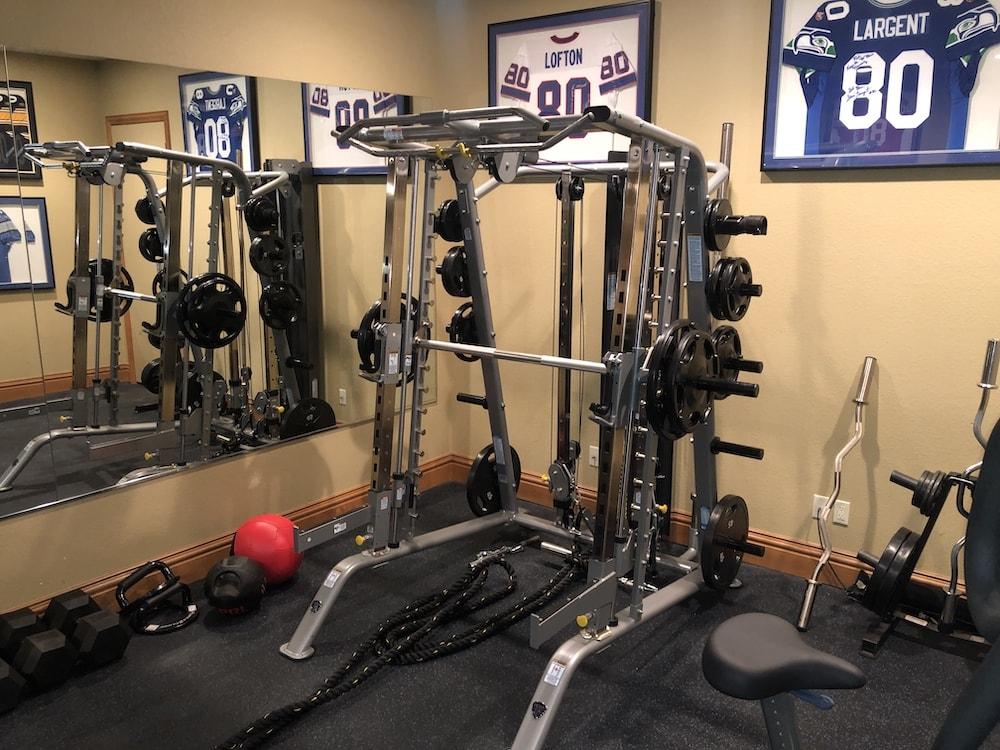 Rod Smith TuffStuff Half Rack Smith Machine - Home Gym