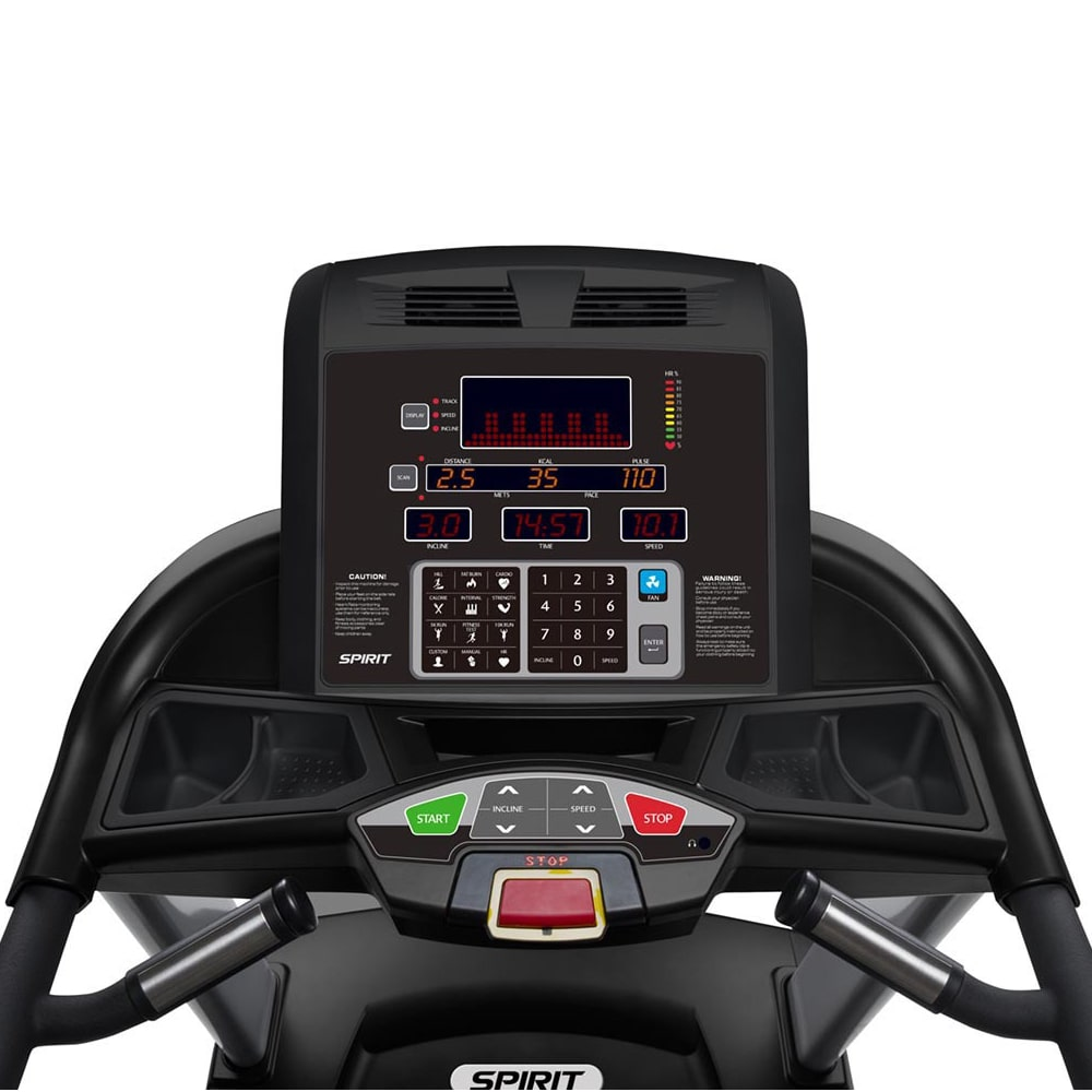Spirit Fitness CT Commercial Treadmill Console