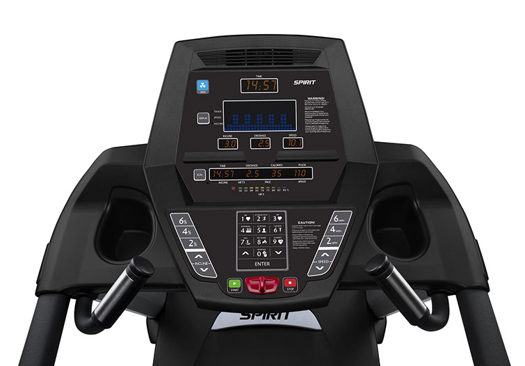 Spirit Fitness CT800 Console Display