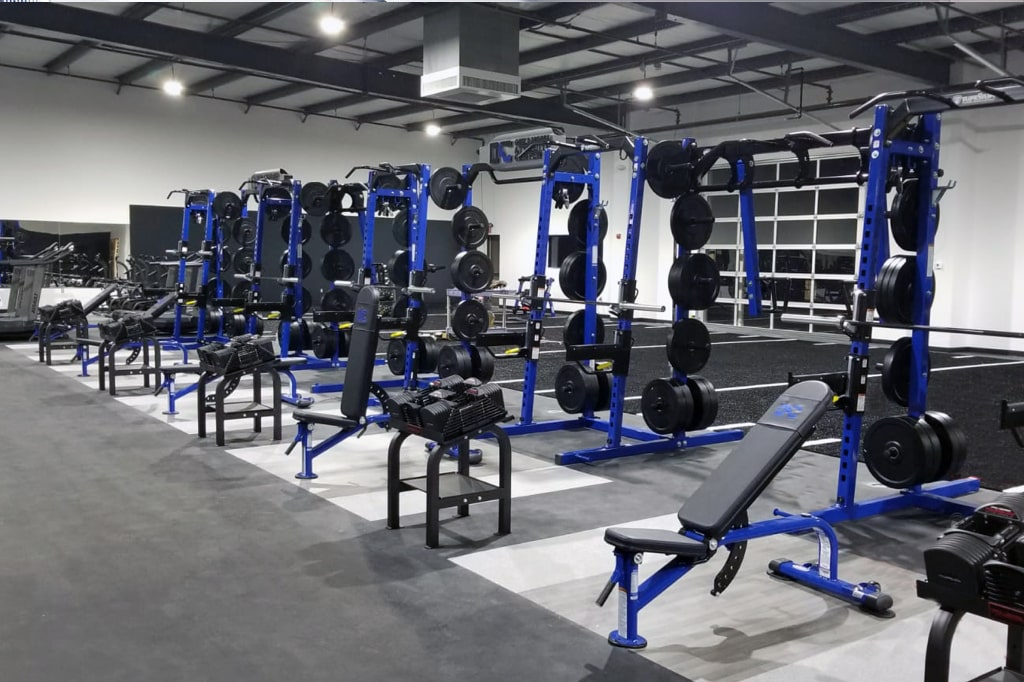 Commercial Strength Equipment - TuffStuff Half Rack - Shop Fitness Gallery