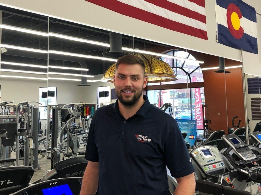 Matt Horowitz at Fitness Gallery