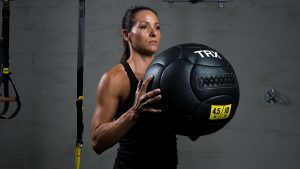 TRX Wall Ball Workout