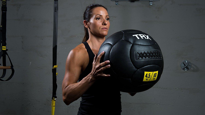 TRX Wall Ball Workout