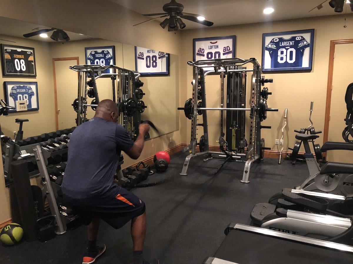 Rod Smith Home Gym Workout