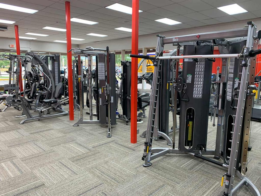 Fitness Gallery Boulder store weight equipment