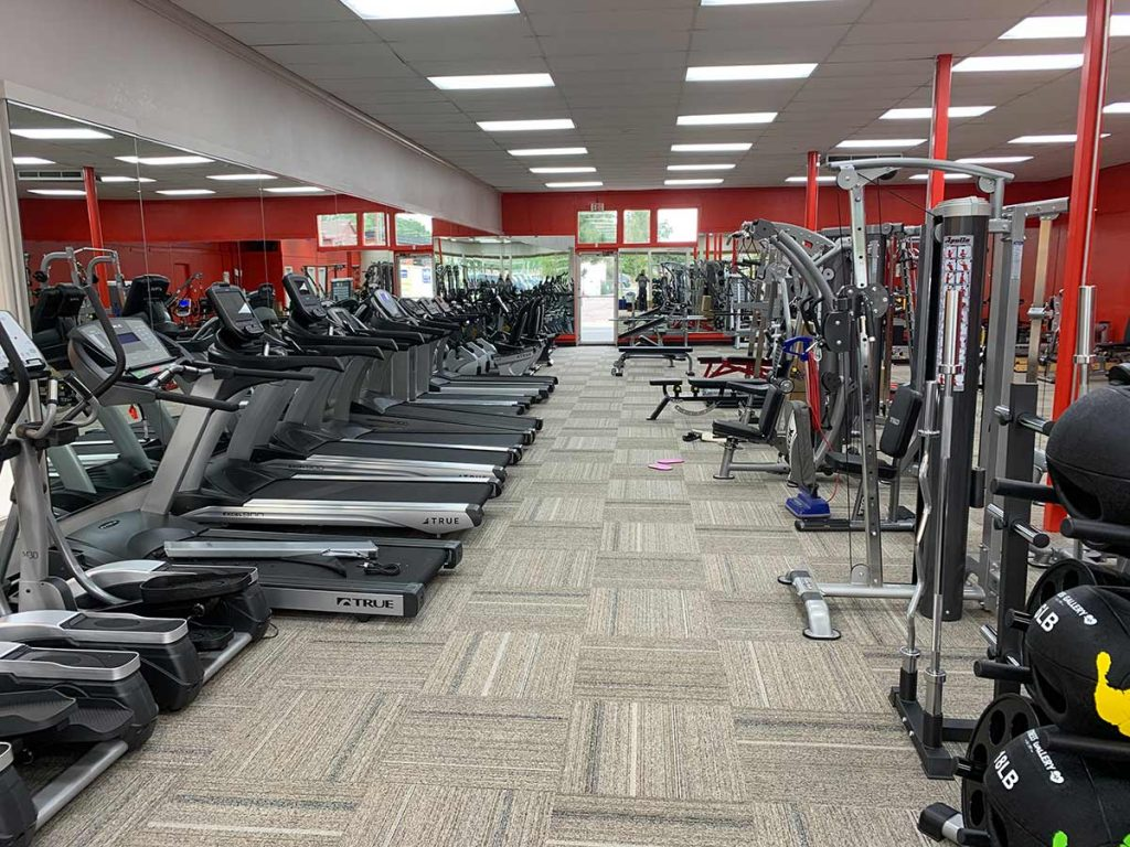 Fitness Gallery Boulder store- cardio equipment