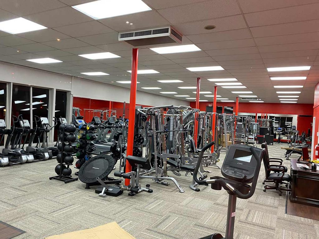 Fitness Gallery exercise equipment- Boulder store