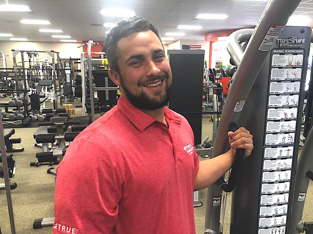 Dylan Muse at Fitness Gallery