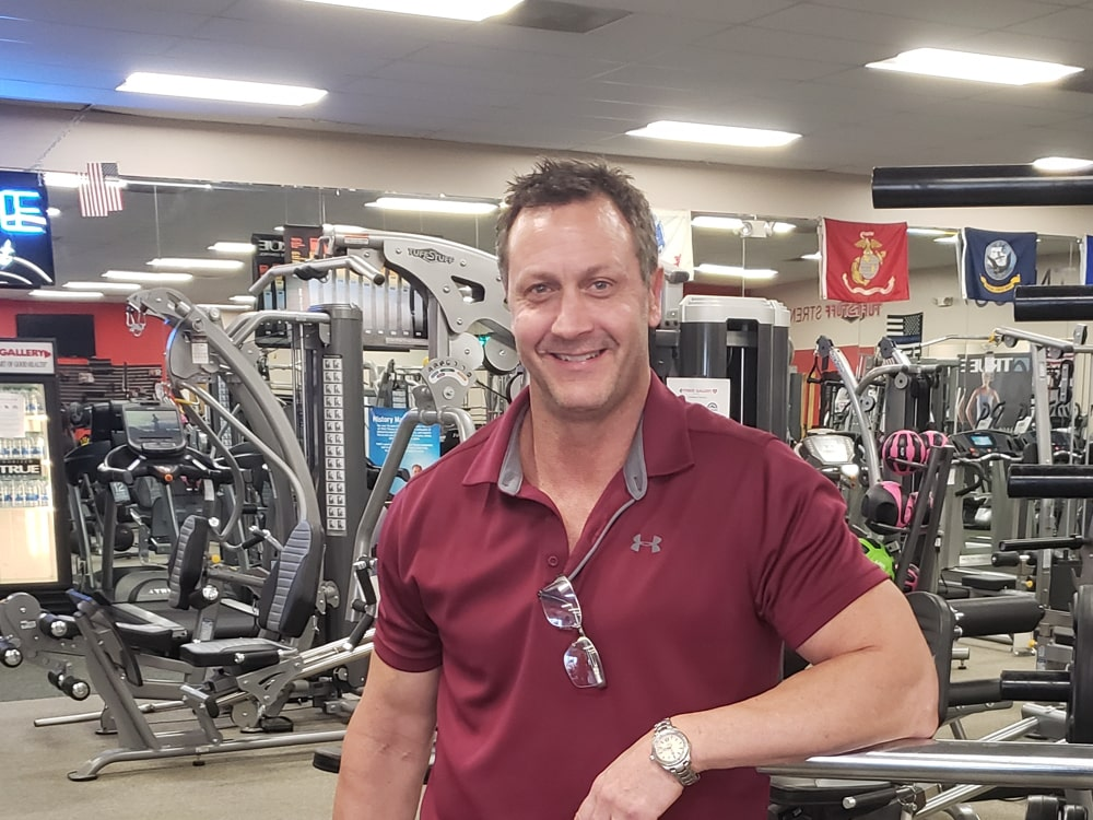 Tres Garman at Fitness Gallery
