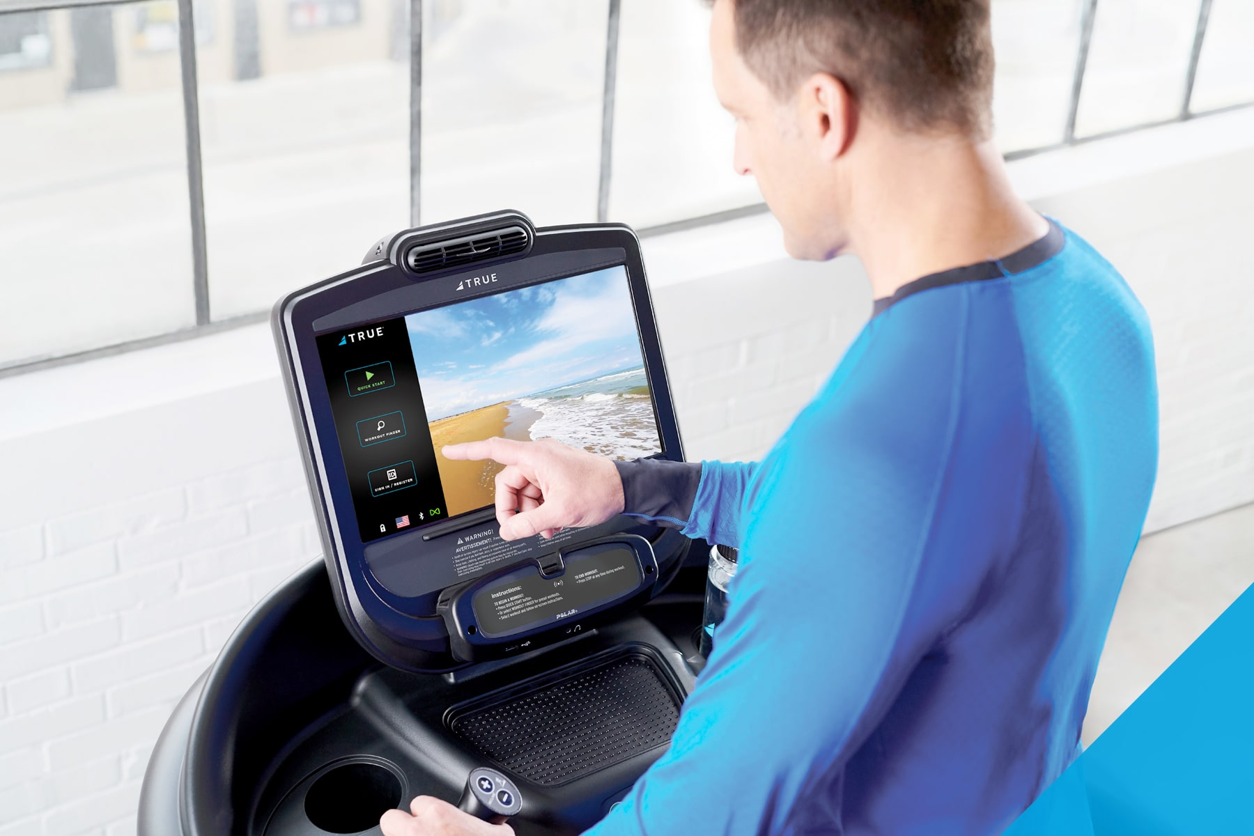 TRUE Fitness Treadmill Technology
