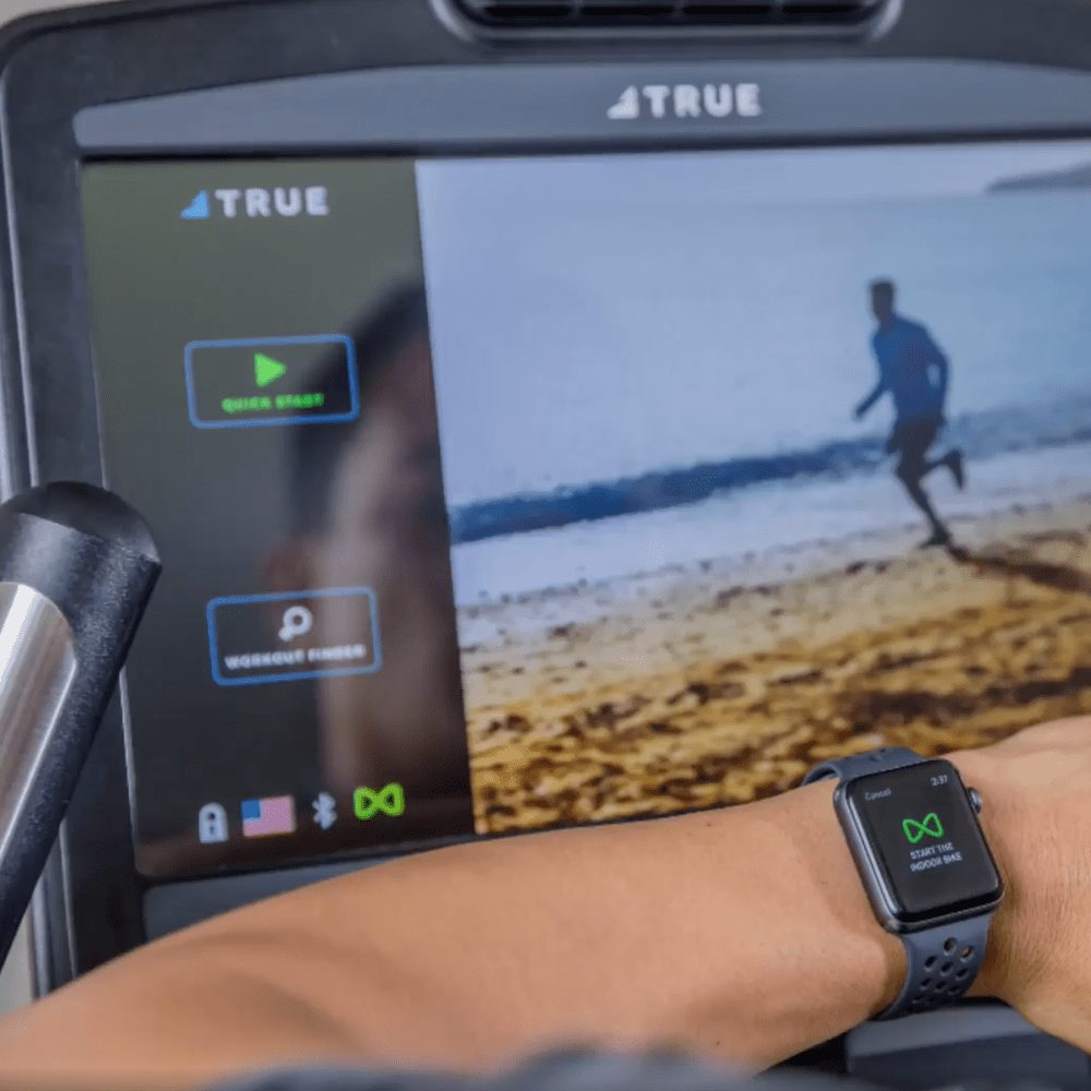 TRUE Treadmill - Apple Watch Connected Workout