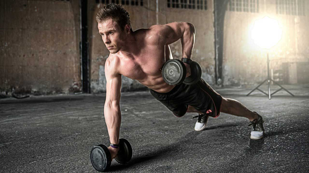 Dumbbell workouts for cardio weight training- burn fat and train cardio