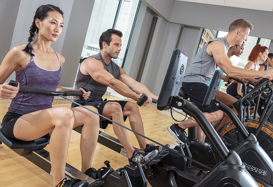 Octane Rowing Machine - Group Fitness