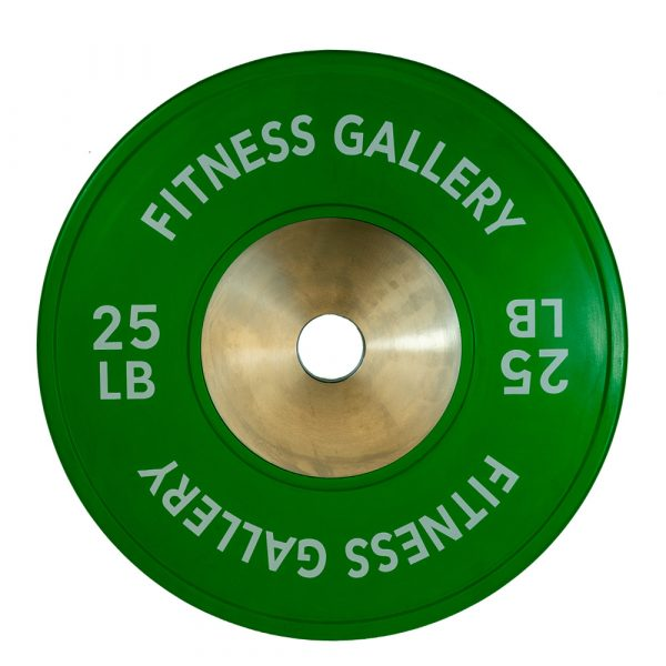 PrimeTime Fitness Commercial Bumper Plate - 25lbs