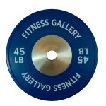 PrimeTime Fitness Commercial Bumper Plate - 45lbs
