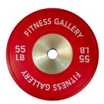 PrimeTime Fitness Commercial Bumper Plate - 55lbs